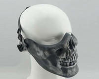 Wholesale Airsoft Paintball Skeleton Skull Mask Face Protective CS Games Battlefield Mask Shield High Quality