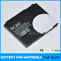 BC60 850mAh 1.5-3 hours High Replacement Cell Phone Battery BC60 For Motorola C257,C261,E6,L7,L7 i-mode,RAZR V3x,RAZR V3x Blue,ROKR E6
