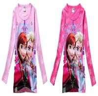 Hot Slae 2014 Summer New Children Girls Snow Queen Clothing ...