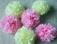 Wholesale NEW Dia cm Artificial Simulation Chrysanthemum Flower Head for DIY Corsage Home Christmas Decoration