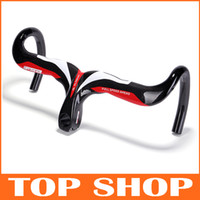 Wholesale New Full Carbon Fibre K Road Bent Handlebar amp One shaped Handlebar MM MM MM Bike Handlebars HW1003