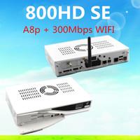 Wholesale 2pcs DM800se with original sim a8p WIFI DM800 SE With WIFI DM SE HD Good Quality Hot Sale Digital Satellite Receiver