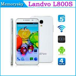 Wholesale Original Landvo L800S MTK6582 Quad Core Smart Mobile Phone android inch GB RAM GB ROM WCDMA AGPS