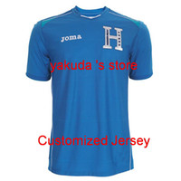 Wholesale Thai Quality Honduras World Cup Away Blue Soccer Jersey Shirts Football Jerseys Cheap Thai Quality Soccer Jerseys Soccer Wears