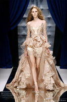 Ball Gown Reference Images Off-Shoulder 2014 Fashion Off-Shoulder Zuhair Murad Dresses Cathedral Train Evening Dress