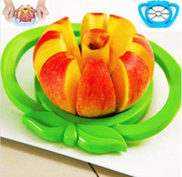 Wholesale Portable Stainless Steel Multifunction Corer Slicer Easy Cutter Cut Fruit Knife Cutter for Apple Pear Etc Fruits