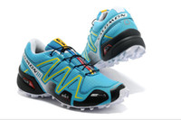 Wholesale Hot women Running shoes Salomon Solomon SALOMON SpeedCross CS Waterproof Cross country