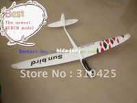 Airplanes Electric 2 Channel Great sale! Free shipping Electric RC glider Sunbird in fiberglass version