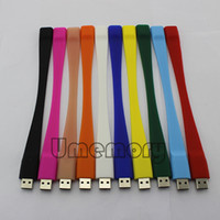 Wholesale Real Capacity G G G G G G Plastic bracelet USB Flash Drive Memory Stick Pen Drive US0032D