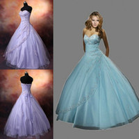 Wholesale 2015 Cheap Beaded Applique Tulle Ball Gown Prom Debutante Evening Formal Dress Corset Summer Dress Actual Image Quinceanera Dresses Hot Sale