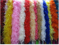 feather boa - 2M g Fluffy Feather Boa Wedding Party DIY Craft Decoration Costume Dress UP High Quality Accessories