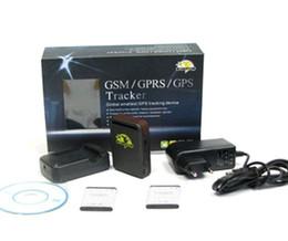 En tiempo real GSM GPRS GPS Tracker TK102 seguimiento funciona con software de monitor gratuito con 2 baterías