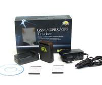 Temps réel GSM GPRS GPS Tracker TK102 suivi fonctionne avec logiciel de moniteur gratuit avec 2 piles