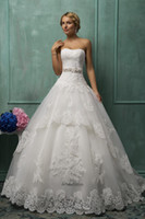 Style 2015 Wonderful Ball Gown Wedding Dresses Strapless All...