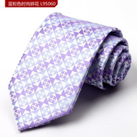 Wholesale Classic Mix Color Microfiber JACQUARD WOVEN Men s Business Tie Formal Wedding Party Groom Necktie Free Size Drop Shipping