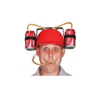 Wholesale Lazy awesome hat watching the World Cup soccer match ball beverage beer party tide things necessary