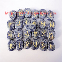 Wholesale Mouse over image to zoom Set of Twenty Five Sodalite Healing Rune Stones Men amp Women Healing Gift Reiki