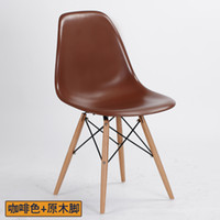 Wholesale Eames LCW Chair Importing ABS beech wood leg simple fashion euro syle chair