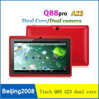 "A23 Q88 Allwinner A23 7"" Dual core Tablet PC Capacitive..."