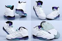 new model shoes - 3 Colors New Model Retro V White Grape Oreo Youth Unisex Children Boys Girls Kids Basketball Sport Footwear Sneakers Shoes