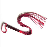 Wholesale Variety of Optional Flirt Long Whips Tartan Bondage Whips Porn Spanking Snake Spanking Paddles Alternative Sex Toy Men Women PVC Leather