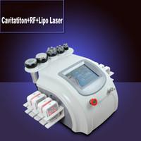 Cheap CE cavitation rf slimming equipment Best salon use 8pcs lipolaser