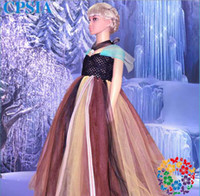 5pcs lot Mix Order Frozen Ice Snow Princess Dress Short Slee...
