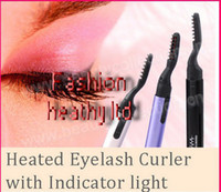Wholesale 2014 New electric Foldable Heated Eyelash Curler Pen Shape Eyelash Curler Multi functional curler eyelash Heated Eyelash Curler