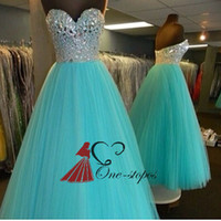Where to Buy Turquoise Ruffled Quinceanera Dress Online? Where Can ...