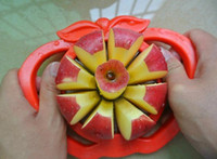 Wholesale Portable Stainless Steel Multifunction Corer Slicer Easy Cutter Cut Fruit Knife Cutter for Apple Pear Orange Creative little tool life