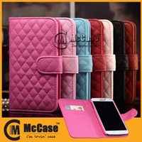 Wholesale iPhone Luxury Wallet Case High Quality Sheepskin PU Leather Cases iPhone Plus C S S Galaxy S5 S4 S3 Note Note Mixed Order