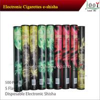 Cheap Health 600puffs E-shisha E-hookah pens disposable electronic cigarette shisha hookah dispsoable e cigarette e cig DHL Free Shipping