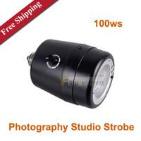 Wholesale E ws Pro Photography Studio Strobe Flash Heads Mini Flash Light Lamp