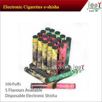 20pcs/Box   E shisha Pen e hookah Elax Disposable e cigarette 500-600 puffs e-shisha e-hookah Electronic Cigarette With Various Flavors 100pcs Lot
