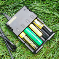 Wholesale Nitecore i4 Universal Charger SYSMAX Version for CR123A Li ion NiMH Battery in Intellicharger
