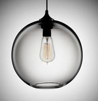 Wholesale fishbowl globe glass shade pendant lamp