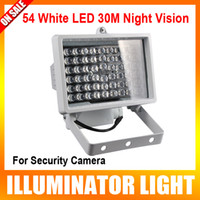 Wholesale 12V W Strong LED Auxiliary Lighting Night Vision Illuminator for Surveillance CCTV Camera