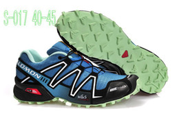 Wholesale Cheap Solomon Outdoor shoes Athletic Running Shoes Zapatillas Speedcross Sports shoes women and Men Size