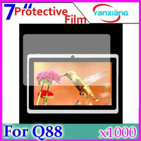 Wholesale DHL Q88 Tablet Protective Film For A23 Q88 Inch Tablet Screen Protector Guard Lcd Screen Protective Film RW L11