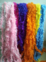 Wholesale 80 Marabou Feather Boa Feather Strip for Party Festival Wedding Decoration