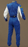 Wholesale set Man Professional motorcycle car racing suits Two piece overalls Siamese car racing suits