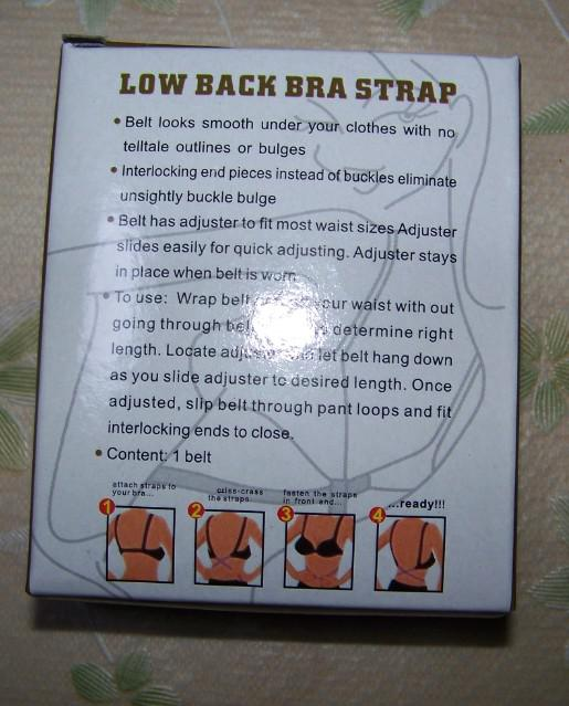 Low Back Bra Magic Bra Strap Low Back