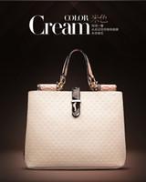 Wholesale Noble Retro Lady handbags Pure color CROCO Elegant women shoulder bags colors good gift