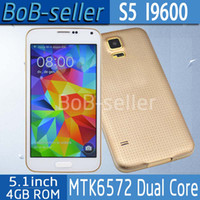 Wholesale New Arrival Perfect S5 Mobile Phone Inch show GB RAM GB ROM Dual Core MTK6572 Android4 Air Gesture Heart Rate OTG Multi Window