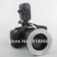 Wholesale W48 LED Makro Macro Ring Lighting Flash for DSLR for CANON NIKON camera