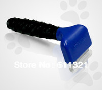 "Bathing Products Dogs 0 cm 1.75"" 2.65"" 4"" Professional Novelty Pet Dog Cat Shedding Tool Brush Grooming Comb for Dogs with Retail Box #3078"