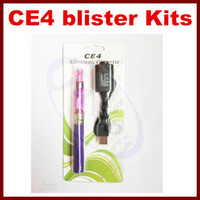 ego ce4 starter kit blister card packing ego colourful batte...