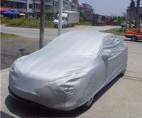 Wholesale Sun Car Hood Silver Universal Light Weight Anti Snow Sun Rain Dust Car Cover Case