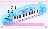 Wholesale 1405c Frozen ice Romance cartoon child organ keyboard with music demo songs