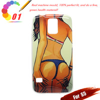 Wholesale Luxury Sexy Bikini Girl TPU gel Case Cover Skin for Samsung Galaxy S5 i9600 Cell phone Cases for galaxy s5